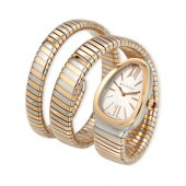 Bvlgari Serpenti Tubogas 35mm watch two-tone pink gold SP35C6SPG.2T