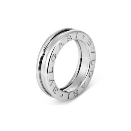 Replica Bvlgari B.ZERO1 1-band ring in 18K white gold