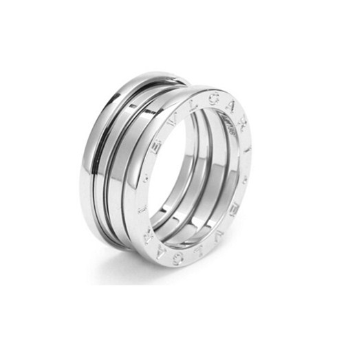 Bvlgari B.ZERO1 3-band ring 18K white gold