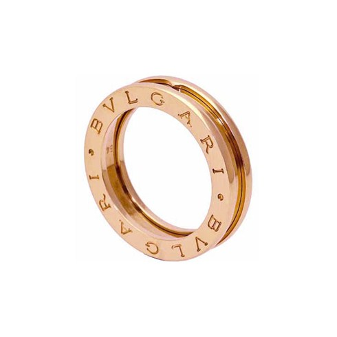 Bvlgari B.ZERO1 1-band ring in 18k pink gold