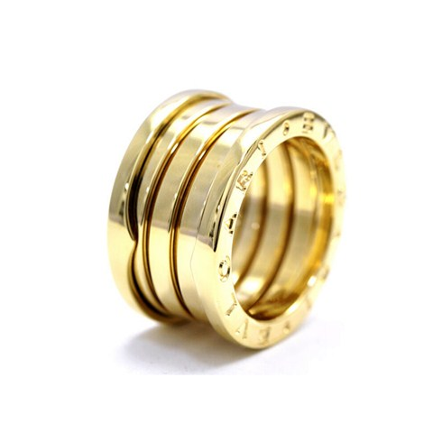 Bvlgari B ZERO1 3 band ring in 18k pink gold
